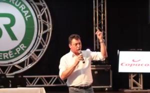 No Sindicato Rural de Goioerê, Sérgio Souza lista desafios do setor no Congresso Nacional