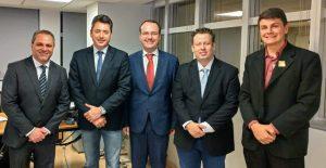fnde prefeitos Sergio souza 300x155 - Prefeito de Moreira Sales vai a Brasília em busca de recursos