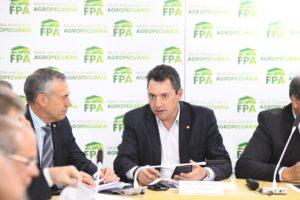 Sérgio Souza é reeleito vice-presidente da Frente Parlamentar da Agropecuária