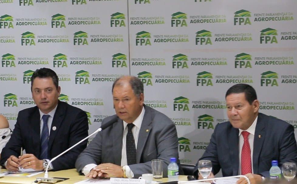 Vice-presidente explica Conselho da Amazônia a parlamentares do agro