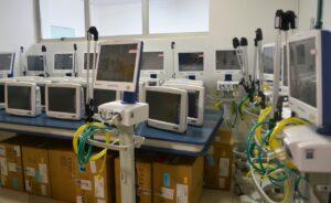 Sergio Souza viabiliza monitores e respiradores para o Hospital do Câncer de Guarapuava
