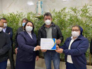 Apucarana  300x225 - APUCARANA Deputado Sergio Souza entrega recursos para o Providência